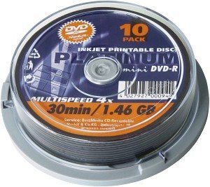 BestMedia Platinum DVD-R 1.4GB 4x, 10-pack Spindle (100306)