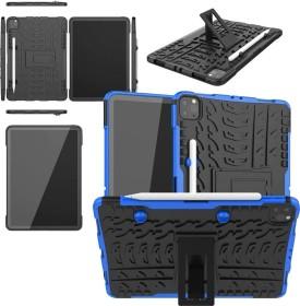 """Wigento Hybrid Outdoor Schutzhülle für Apple iPad Pro 11"""" [2. Generation / 2020], blau (74521)"""