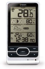 Oregon Scientific BAR208HG clear Line wireless weather station digital