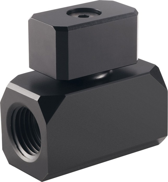 "Phanteks G1/4"" ball Valve stopcock black (PH-BVA_BK_G1/4)"