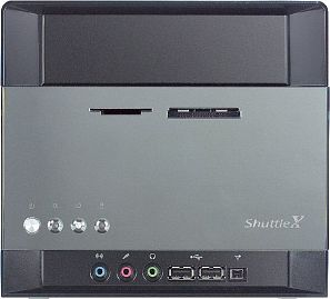 Shuttle XPC SN85G4 mini-Barebone aluminum (Socket 754/2.2GHz/PC3200 DDR)