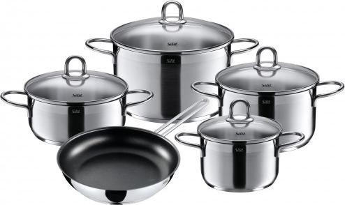 WMF Silit diamond cooking pot set, 5-piece. (21.0928.5267)