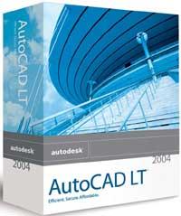 Autodesk: AutoCAD LT 2004 (PC) wersja edukacyjna (05718-121408-9000)