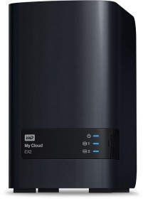 Western Digital My Cloud EX2 8TB, 1x Gb LAN (WDBVKW0080JCH)