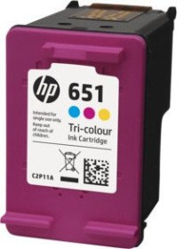 HP Printhead with ink 651 tricolour (C2P11AE)