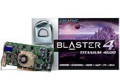 Creative 3D Blaster 4 Titanium 4600, GeForce4 Ti4600, 128MB DDR, DVI, TV-out, AGP
