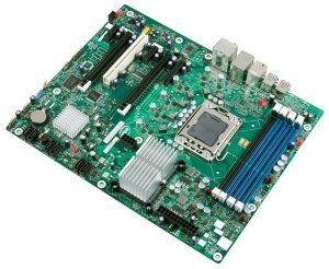 Intel Workstation Board WX58BP, X58 (triple PC3-10667U DDR3)