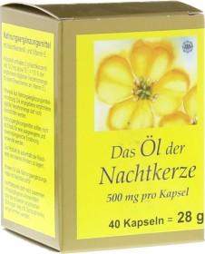 FBK-Pharma Öl der Nachtkerze 500mg Kapseln, 40 Stück