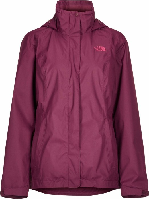 uk availability ef6ce 8ee16 The North Face Evolve II Triclimate Jacke fig/rumba red (Damen) (CG56-5PF)  ab € 151,54