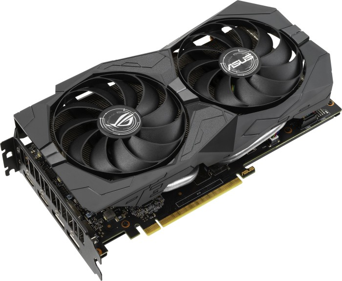 ASUS ROG Strix GeForce GTX 1660 SUPER OC, ROG-STRIX-GTX1660S-O6G-GAMING, 6GB GDDR6, 2x HDMI, 2x DP (90YV0DW0-M0NA00)