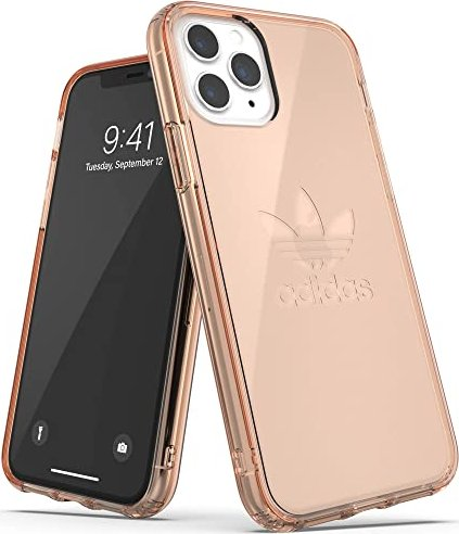 adidas Protective Clear Case Big Logo für Apple iPhone 11 Pro rosegold (36413) -- via Amazon Partnerprogramm