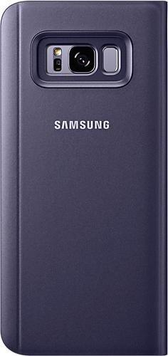 Samsung Clear View Standing Cover für Galaxy S8+ violett (EF-ZG955CVEGWW)