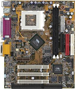 Gigabyte GA-6VEML, Apollo Pro PLE133T, VGA, LAN, µATX (FC-PGA/FC-PGA2)