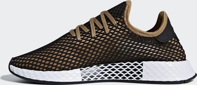 san francisco 0d0f8 1a53b adidas Deerupt Runner cardboardcore black (męskie) (B41763)