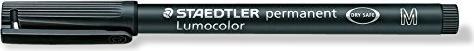 Lumocolor Folienschreiber mittel schwarz Wf 3179