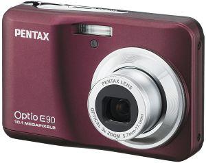 Pentax Optio E90 red (17916)