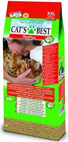 Cat's Best ÖkoPlus Öko-Katzenstreu 40l -- via Amazon Partnerprogramm