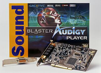 Creative Sound Blaster Audigy player, FireWire, retail