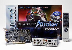 Creative Sound Blaster Audigy Platinum, FireWire, retail