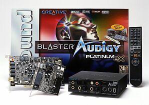 Creative Sound Blaster Audigy Platinum eX, FireWire, retail