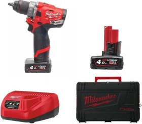 Milwaukee M12 CPD-402X Fuel cordless combi drill incl. case + 2 Batteries 4.0Ah (4933441877)