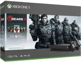 Microsoft Xbox One X - 1TB Gears 5 Bundle schwarz