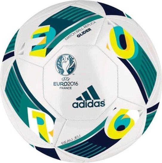 EM 2016 Frankreich Größe 5 Deutschland Fußball Adidas Beau Jeu Glider Grün