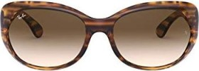Ray-Ban RB4325 59mm striped brown/brown gradient (Damen) (RB4325-820/13)