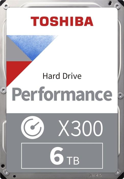 Toshiba X300 High-Performance 6TB, SATA 6Gb/s, bulk (HDWE160UZSVA)