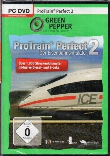 Pro Train Perfect 2 - Der Eisenbahnsimulator (deutsch) (PC) -- © bepixelung.org