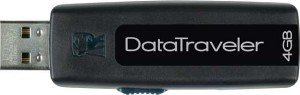 Kingston DataTraveler 100 black 4GB, USB 2.0 (DT100/4GB)