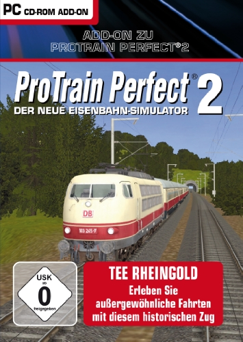 Pro Train Perfect 2: AddOn - Rheingold (deutsch) (PC) -- via Amazon Partnerprogramm