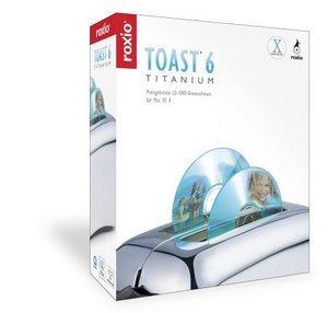 Adaptec/Roxio: Toast 6.0 Titanium, 10 er Pack (englisch) (MAC) (209800UK)