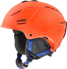 UVEX P1us 2.0 Helm orange/blue mat