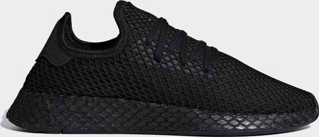 sale retailer 66dc7 0f446 adidas Deerupt Runner core black ftwr white (men) (B41768)