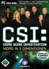 CSI 3 - Mord in 3 Dimensionen (PC)