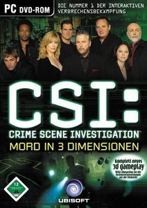 CSI 3 - Mord in 3 Dimensionen (deutsch) (PC)