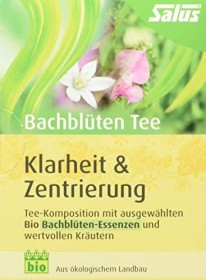 Salus Bach flowers-Tea Klarheit & centering, 15 bag