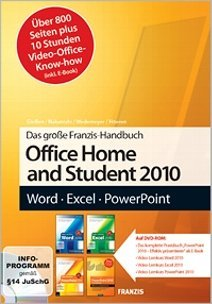 Franzis: video learning course Office Home and Student 2010 (German) (PC)