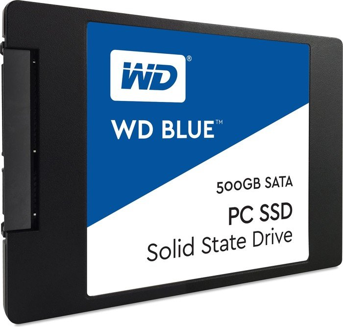 Western Digital WD Blue PC SSD 500GB, SATA (WDS500G1B0A) (2016)
