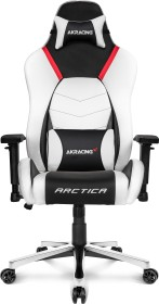 AKRacing Master Premium Gamingstuhl, schwarz/weiß/rot (AK-PREMIUM-ARCTICA)
