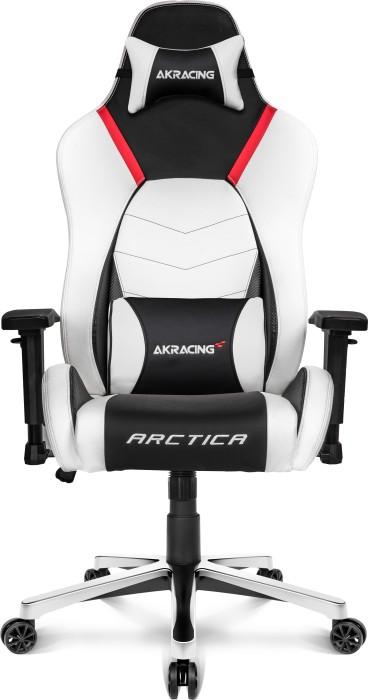 Akracing Master Premium Gaming Chair Blackwhitered Ak Premium