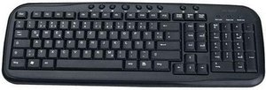 MS-Tech LT-920 Multimedia Keyboard, USB