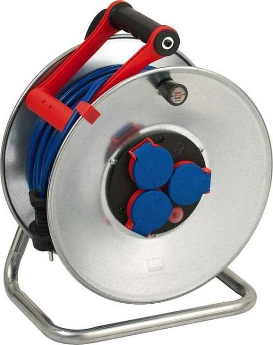 Brennenstuhl Garant S Ip44 Kabeltrommel 50m At N05v3v3 F 3g1 5 Blau