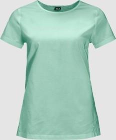 Jack Wolfskin Nata River Shirt kurzarm light jade stripes (Damen) (1403231-8188)