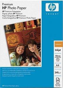 HP C7040A premium photo paper high gloss A4, 240g, 50 sheets