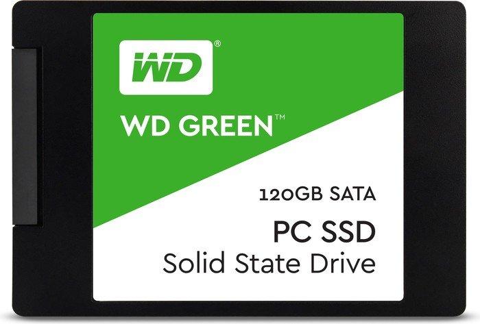 Western Digital WD Green PC SSD 120GB, SATA [2017] (WDS120G1G0A)