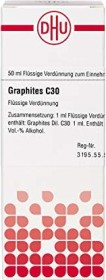 DHU Graphites C30 Dilution, 50ml