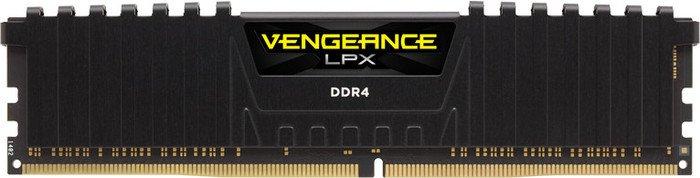 Corsair Vengeance LPX schwarz DIMM 4GB, DDR4-2400, CL16 (CMK4GX4M1A2400C16)