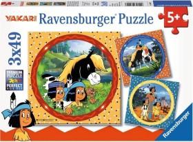 Ravensburger Puzzle Yakari, der tapfere Indianer (08000)